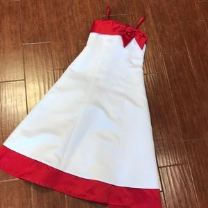 Dresses & Skirts - Child Formal Red and White Dress